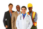 Group of happy young professionals — Stock Photo