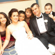 Stock Photo: Portrait of Newlyweds With Bridesmaids And Groomsmen