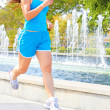 Fit Young Female Jogging — Stock Photo #30430529