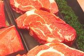 Verse ribeye steaks — Stockfoto
