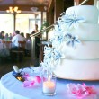 wedding  cake — Stockfoto