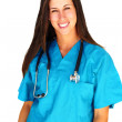 Beautiful female doctor — Stock Photo