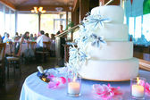 Ciasto weselne — Zdjęcie stockowe