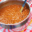 Cooked beans — Stock Photo