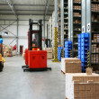 Busy warehouse - Stock Photo