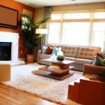 Cozy living room — Stock Photo