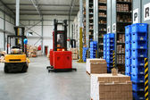 Busy warehouse — Stock Photo