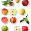 Apple collection - Stock Photo