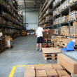 Royalty-Free Stock Photo: Busy warehouse