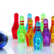 Miniature bowling — Stock Photo