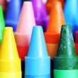 colorful crayons — Stock Photo