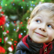 Christmas child portrait — Stock Photo