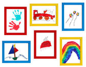 Child art — Stock Photo
