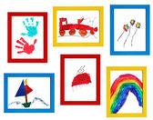 Child art — Stock Photo