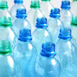 Empty water bottles — Stock Photo