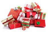 Gift pile — 图库照片