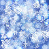Vector snowflakes background — Stock Vector