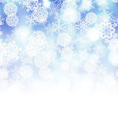 矢量冬天背景 — 图库矢量图片