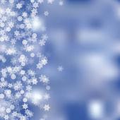 Vector winter background — Stock Vector