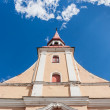 Parnu church spire — Stock Photo