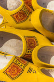 Traditional dutch wooden shoes — Stock Photo
