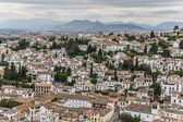 White houses of Granada — Stock Photo