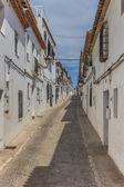 Altea straat — Stockfoto