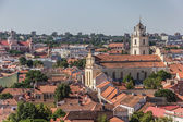 View over Vilnius old town — Stock Photo