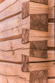 建筑木教会的技术细节 — 图库照片