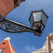 Old black lantern in the center of Leer — Stock Photo #28280055