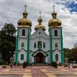 Church of the holy spirit in Rakhiv — Stock Photo
