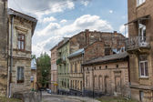 Old run down quarter of Lviv — Stock Photo