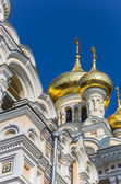 Detail of the Aleksandr Nevsky cathedral in Yalta — Stock Photo