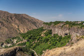 View over the valley in Garni, Armenia — Stock Photo