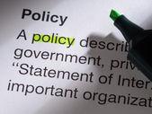 Политика — Стоковое фото