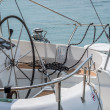 Stock Photo: Sailing detail