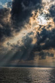 Stormy sky — Stock Photo