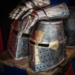 Stock Photo: Knight helmet