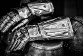 Knight helmet — Stock Photo