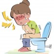 Constipation — Stock Photo