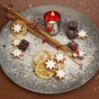 Stock Photo: Christmas Dish