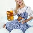 Bavarian Girl — Stock Photo #19256229