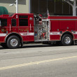 Beverly Hills Fire Engine - Foto Stock