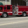 Beverly Hills Fire Engine - Stock Photo