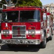 Beverly Hills Fire Engine - Stok fotoraf