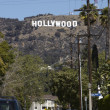 Hollywood-Schild — Lizenzfreies Foto