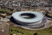стадион greenpoint антенна — Стоковое фото