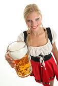 баварской девушки — Стоковое фото