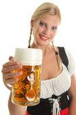 Bavarian dziewczyna — Zdjęcie stockowe