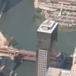 Chicago aerial view — Stock Video